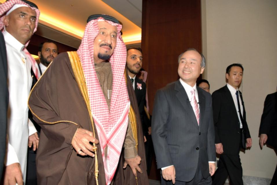 サルマン国王と孫社長_2017年3月