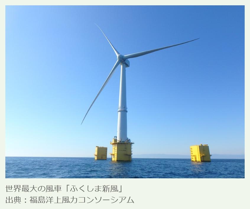 ふくしま新風_福島洋上コンソーシアムの風車