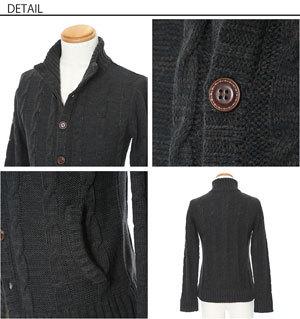 黒 ニット メンズファッション
