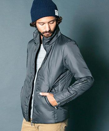 格の違い 大人 男 メンズアウター 冬 ライダースデザインジャケット