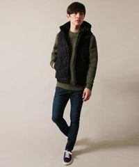 冬 メンズニットセーター 着こなし コーディネート 2017-18 5