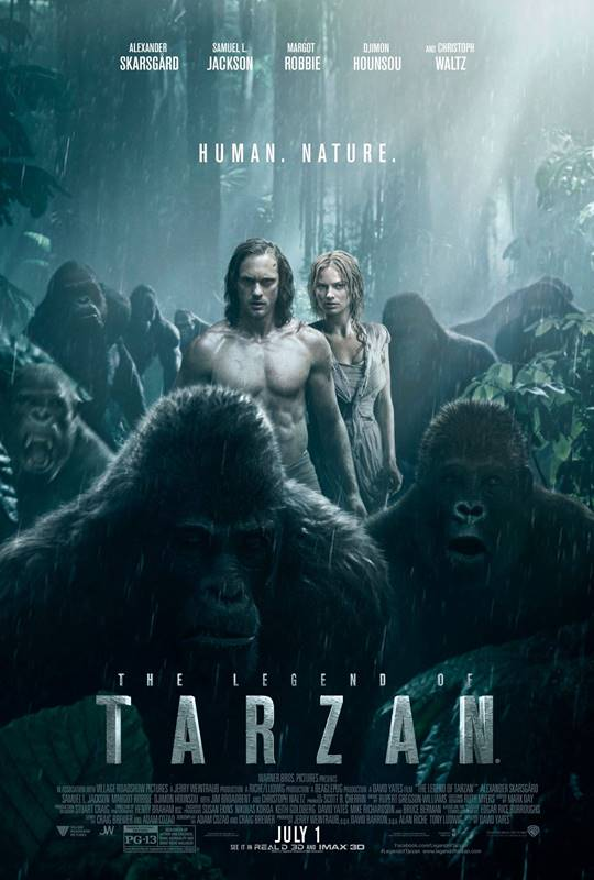 Filme de Aventura A Lenda de Tarzan (2017)