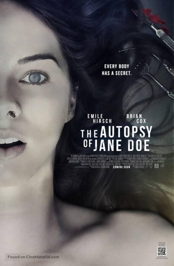 Filme de Terror A Autópsia Dublado