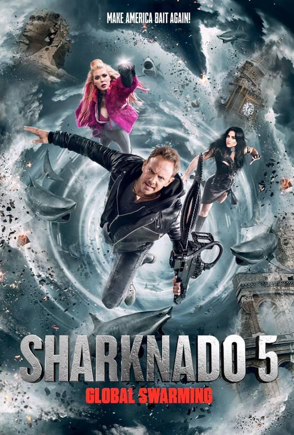 Filme Sharknado 5 Voracidade Global Dublado