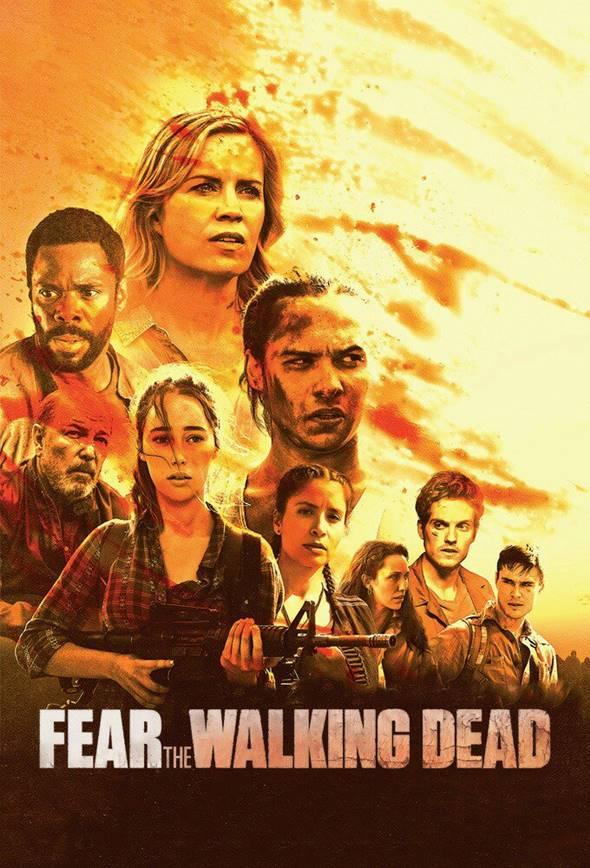 Série Fear The Walking Dead 3ª Temporada Dublado