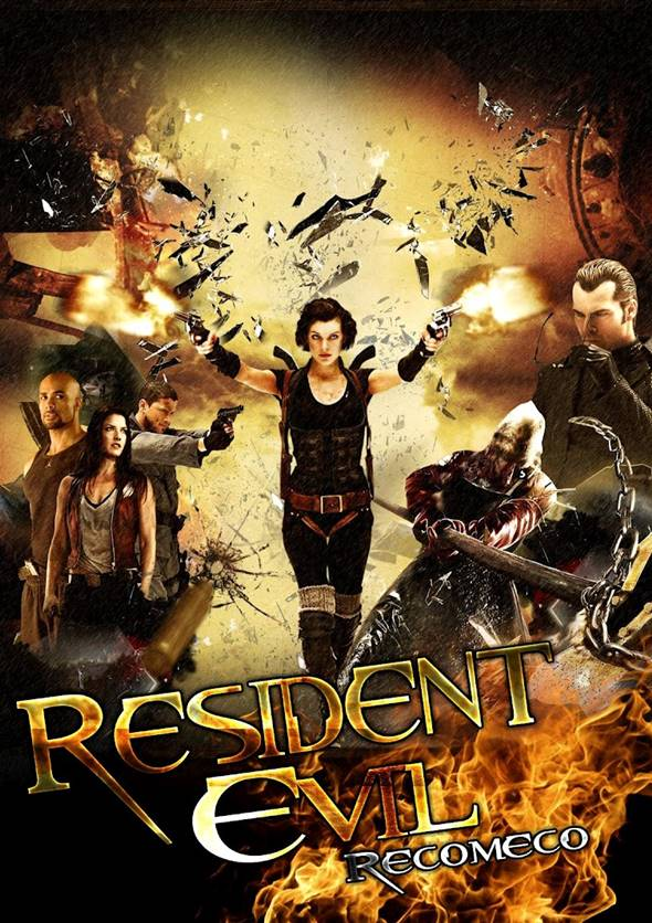 Filme Resident Evil 4 – Recomeço 1080p