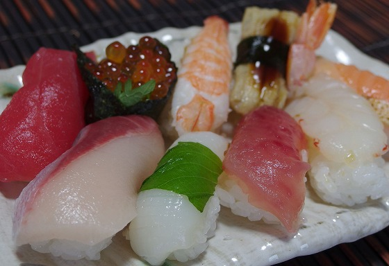 170730にぎり寿司