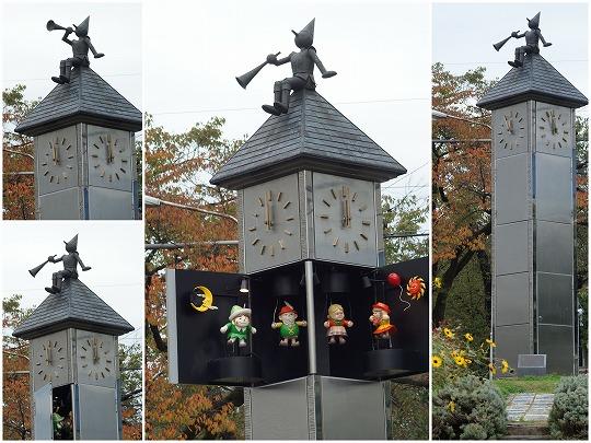 081010飯田市人形時計塔ハミングパル