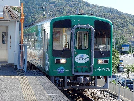 171101夜須駅モネの庭電車