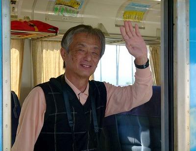 171101夜須駅を出る