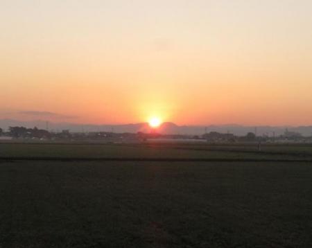 日の出と清水登山 015