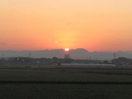 日の出と清水登山 009