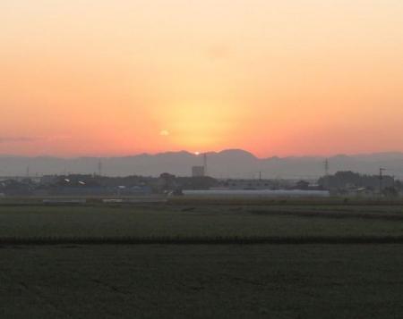 日の出と清水登山 007