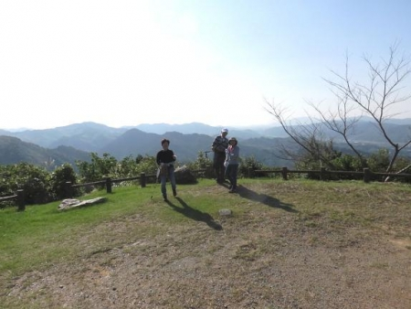 日の出と清水登山 097