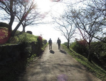 日の出と清水登山 093