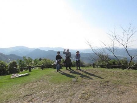 日の出と清水登山 100