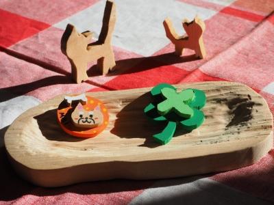 M_studiomimosa木の皿