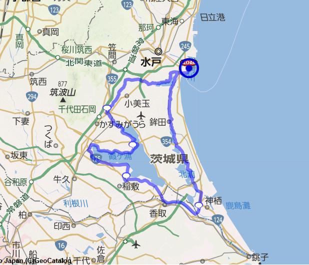 AJ千葉 317 200km 2Lake