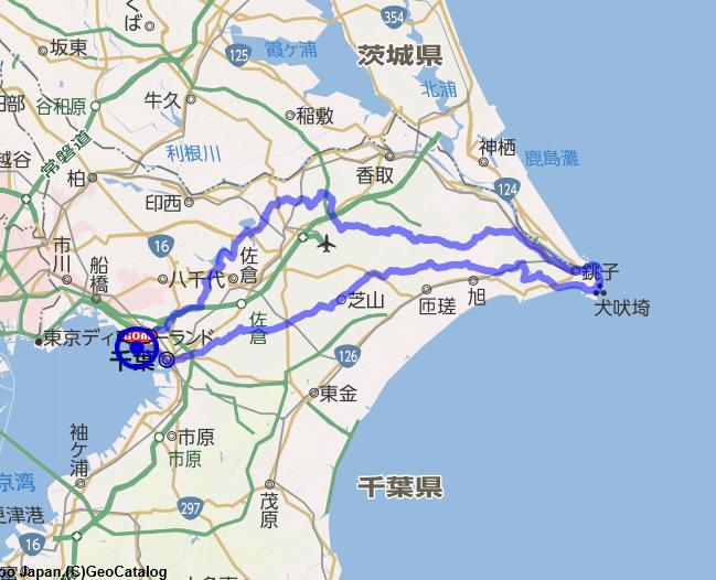 AJ千葉 1020検見川 200km
