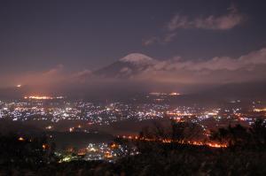 「 一期一会の富士 」
