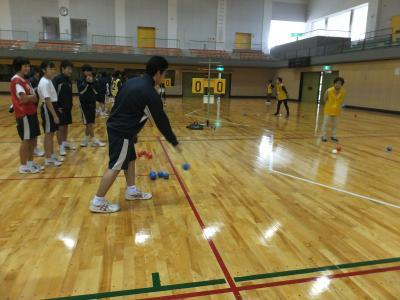 20181116美川中学ボッチャ2