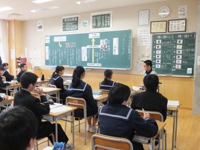 20181116美川中学車椅子3