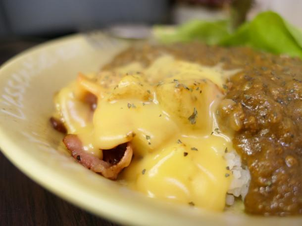 チーズポテトカレー