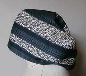 調理人の頭巾 横