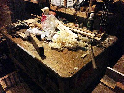 作業台 鉋かけ装置 (2)