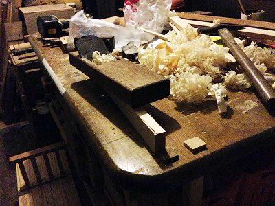 作業台 鉋かけ装置 (5)
