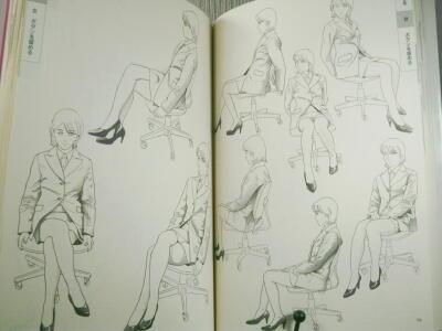 28・衣服の描き方スーツセーラー服篇・3