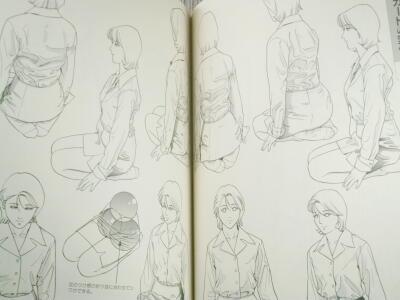 28・衣服の描き方スーツセーラー服篇・4