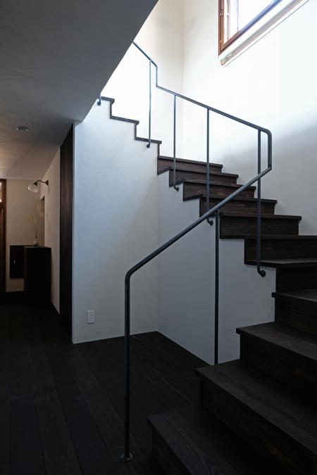 江別の家 階段11