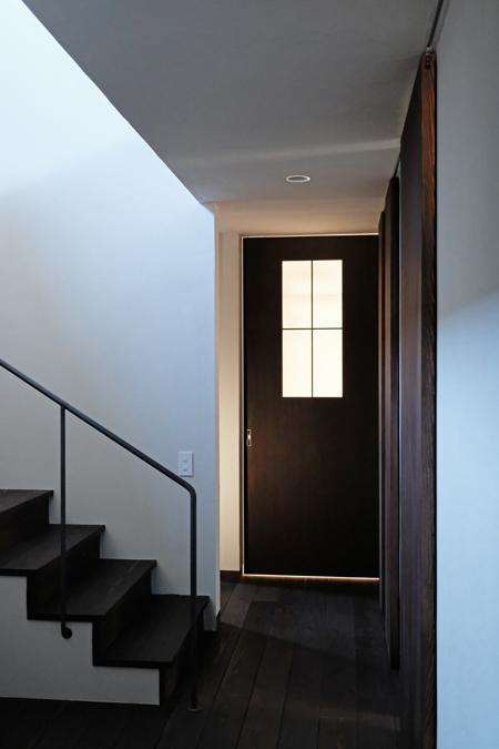 江別の家 階段12