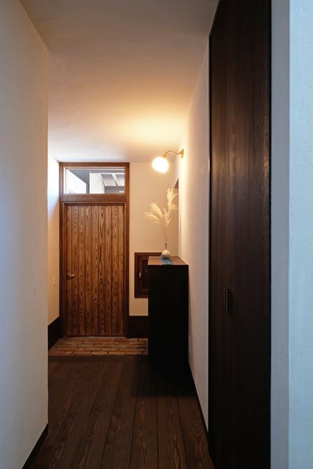江別の家 玄関12