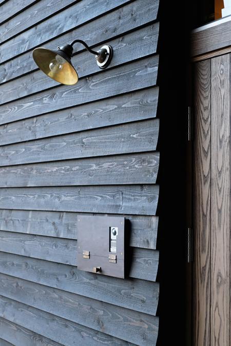 江別の家 玄関ポーチ11