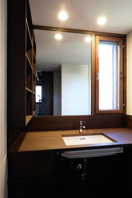 江別の家 洗面11