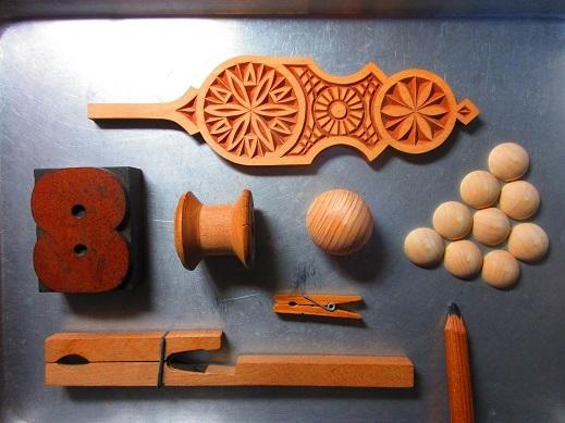 木製のカケラ