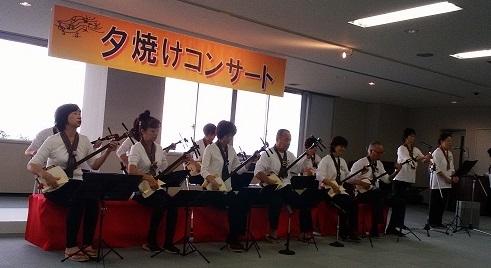 夕焼けコンサートー1