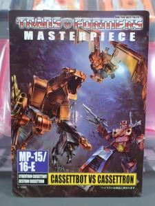 【タカラトミーモール限定】トランスフォーマー マスターピース MP15 16-E カセットボット VS カセットロン (6)
