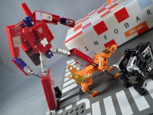 【タカラトミーモール限定】トランスフォーマー マスターピース MP15 16-E カセットボット VS カセットロン (62)