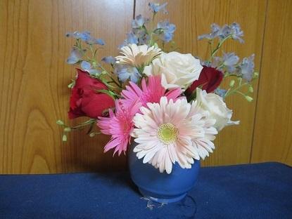 お盆のお花も準備して~
