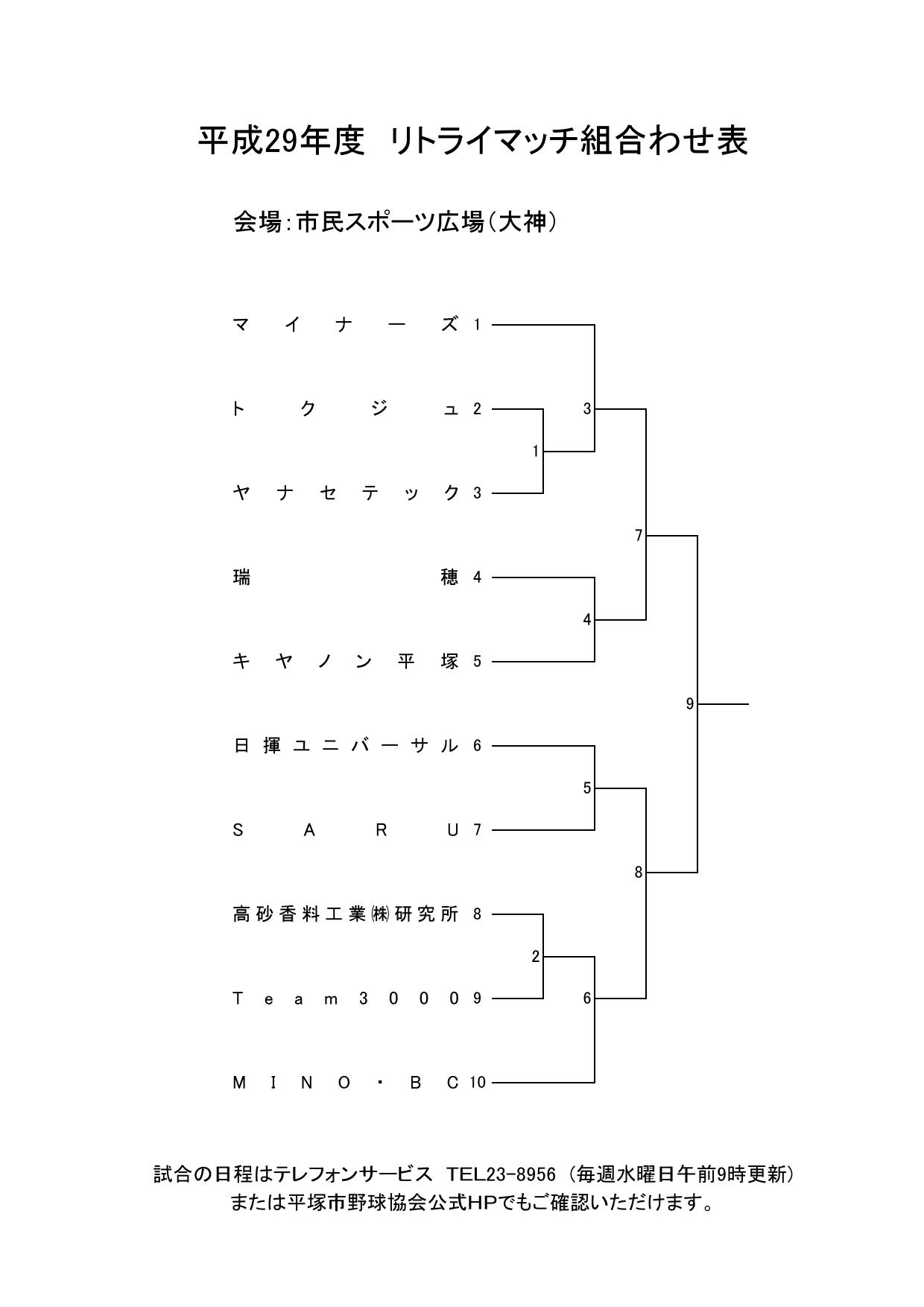 H29リトライトーナメント表