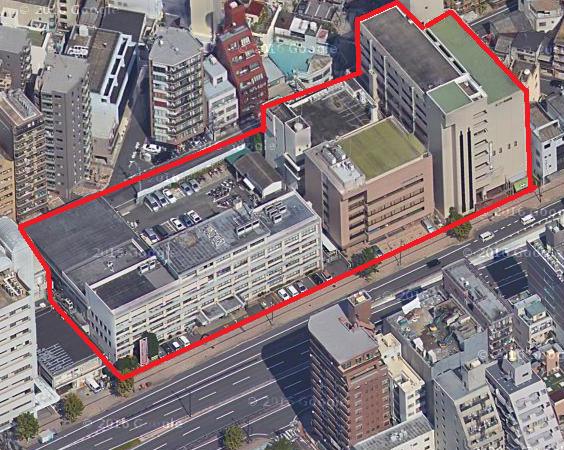 広島市中区富士見町 SPCホテル計画