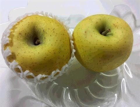 黄色いリンゴ (2)