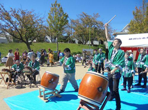 20181029 希望 植田山秋祭りに参加しました。1