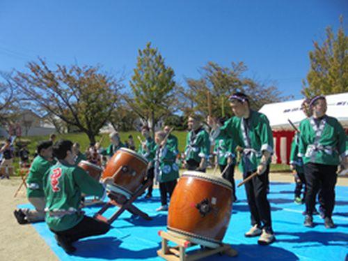 20181029 希望 植田山秋祭りに参加しました。2