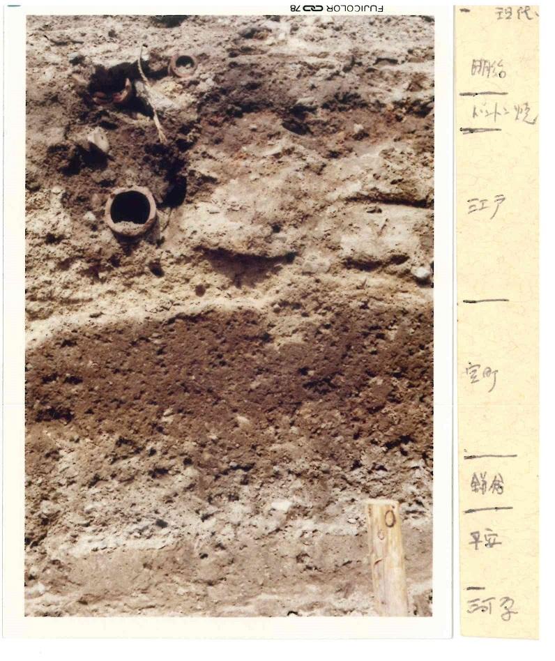 発掘調査_地層年代区分