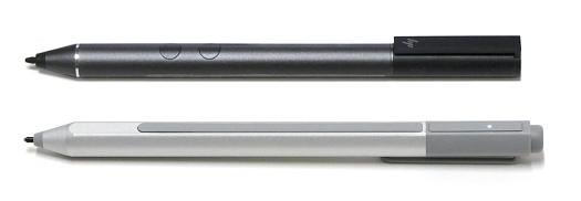 Spectre アクティブペンとSurfaceペンの比較