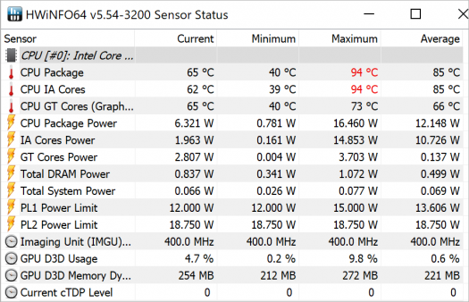 Spectre x2 12-c002TU_CINEBENCH R15_CPUsingle_temp26_b_Core i7-7560Uの温度